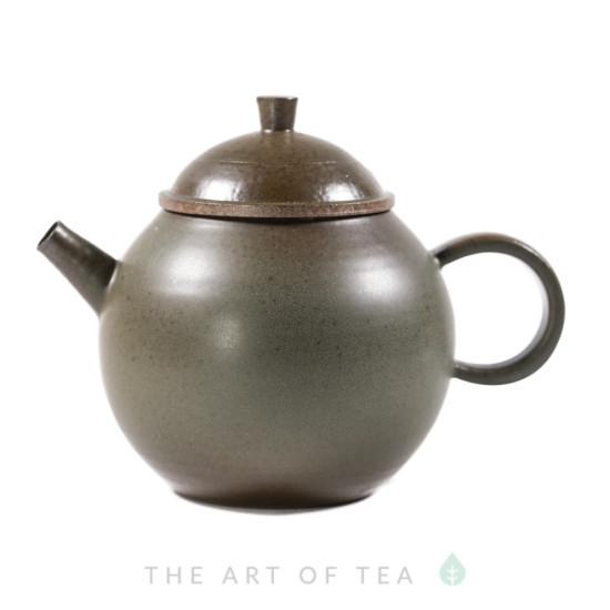 Чайник к88, глина, глазурь, 195 мл