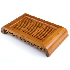 Чабань (чайная доска) #3, бамбук 40*22 см
