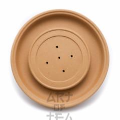 Чайный пруд желтый, глина, 14,5 см