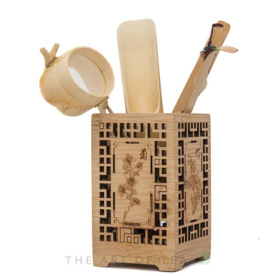Инструменты для чайной церемонии #6, бамбук