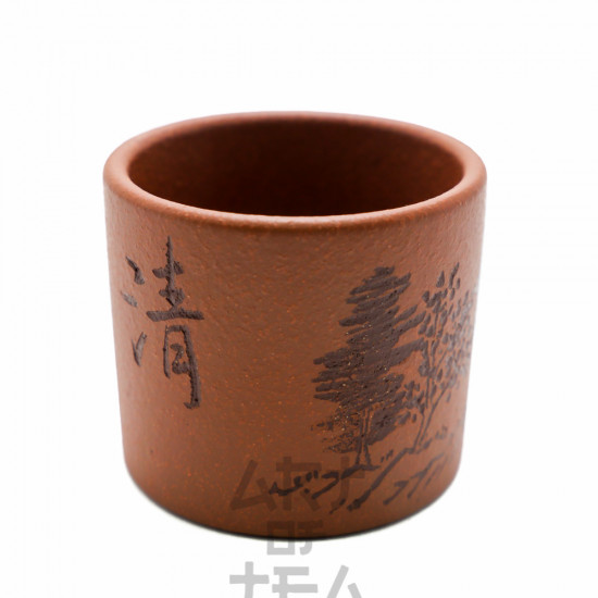 Пиала Дерево, исинская глина, 90 мл