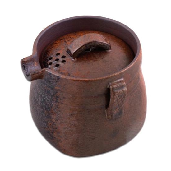 """Гайвань - чайник """"Старый Солдат"""", глина, 220 мл"""