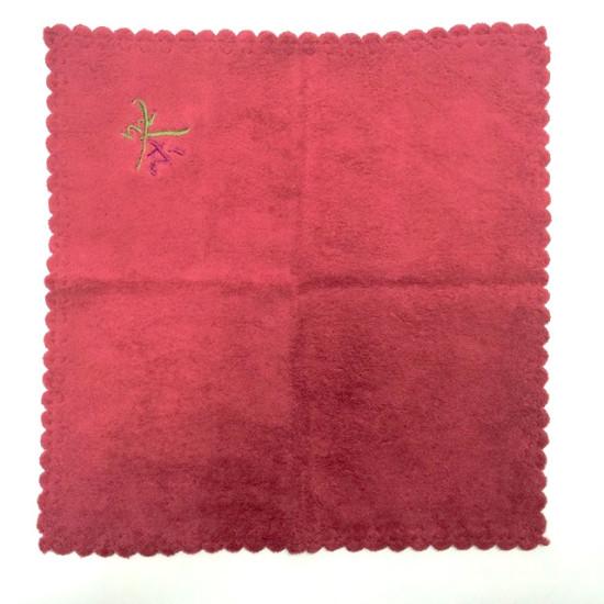 """Чайное полотенце """"Красное"""", 30*30 см"""
