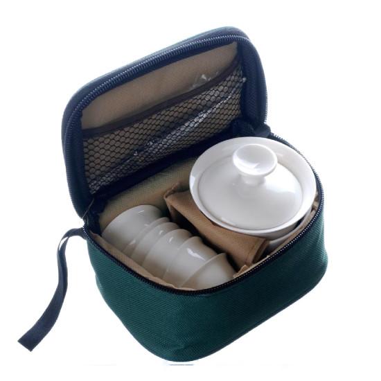 Дорожный набор для чайной церемонии Белый