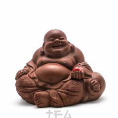 Чайная фигурка Хотей и жемчужина, глина