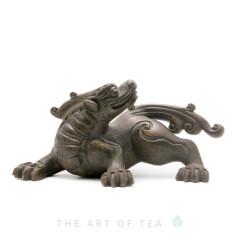 Чайная фигурка Черный Дракон, глина