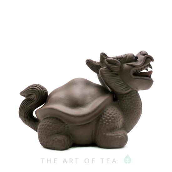 "Чайная фигурка ""Черепаха-Дракон"", глина"
