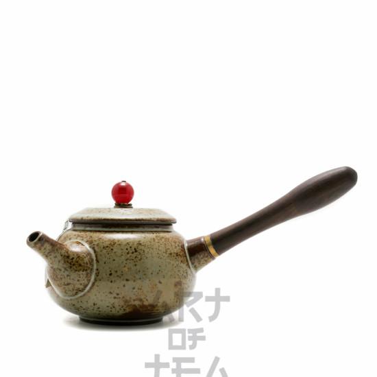 """Чайник """"Лист"""" с боковой ручкой, керамика, 180 мл"""