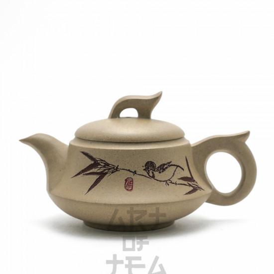 Чайник из исинской глины т40, 170 мл