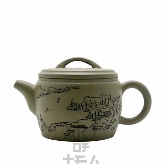 Чайник из исинской глины т207, 200 мл