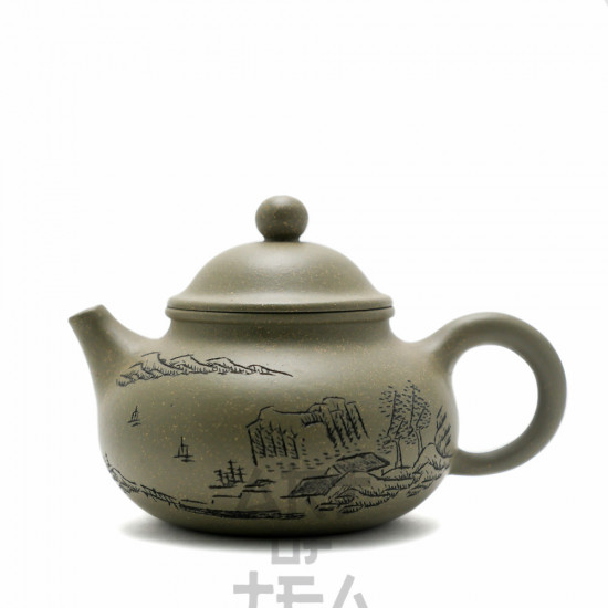 Чайник из исинской глины т56, 200 мл