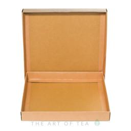 Коробка под блин пуэра, картон, 21*21 см