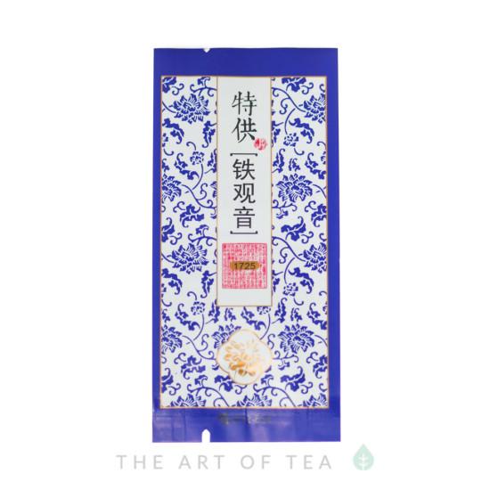 Пакет для чая малый, синий, 5,5*12 см