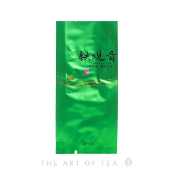 Пакет для чая малый, зеленый, 5,5*12 см