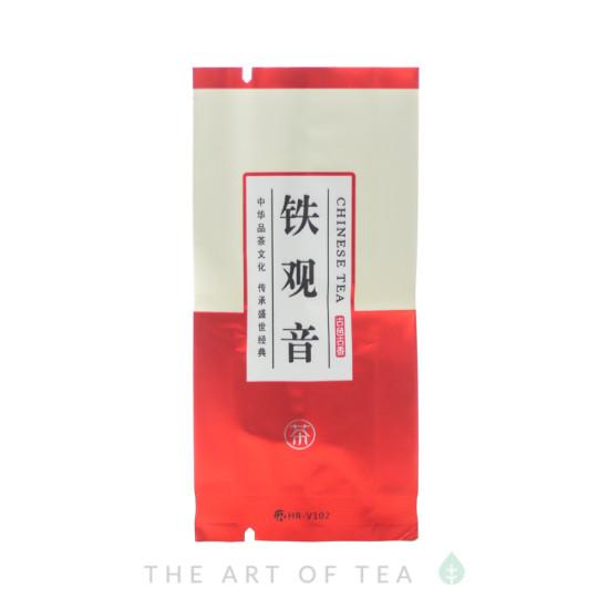 Пакет Chinese Tea малый, красный, 5*10,5 см