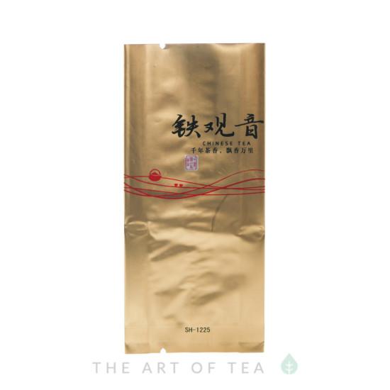 Пакет для чая малый, золотой, 5,5*12 см