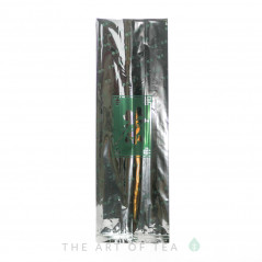 Пакет Иероглиф, серебристый, 9,5*28 см