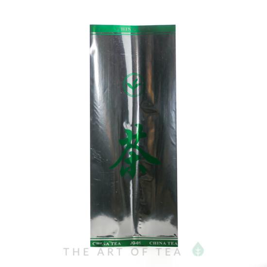 Пакет Иероглиф, серебристый, 12,5*31,5 см