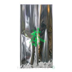 Пакет Иероглиф, серебристый, 16,5*32 см