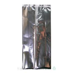 Пакет для чая большой, серебристый, 19*42 см