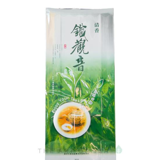 Пакет для чая большой, зеленый, 19*42 см