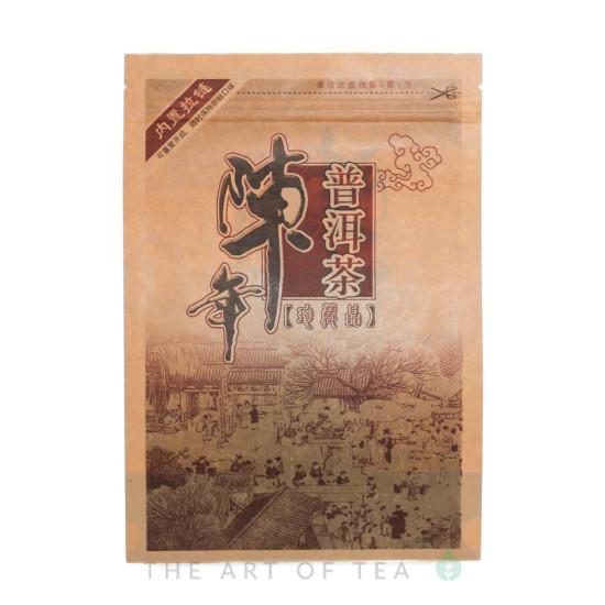 Пакет зип Иероглиф, крафт, 17*24 см