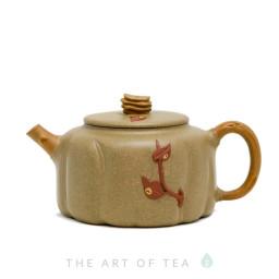 Чайник из исинской глины т89, 265 мл
