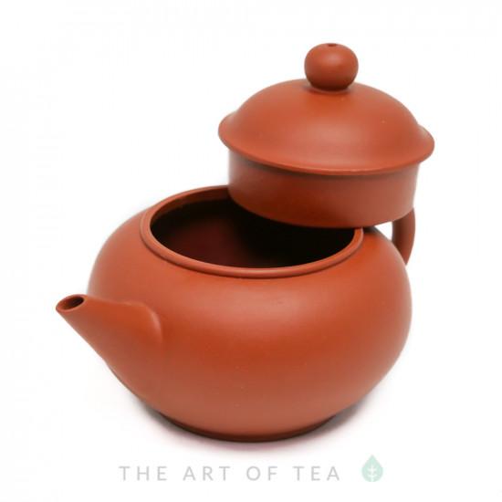 Чайник из исинской глины т86, 95 мл