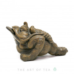 Чайная фигурка Жаба Богатства, глина
