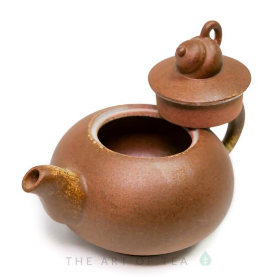 Чайник т94, глина, глазурь, 205 мл