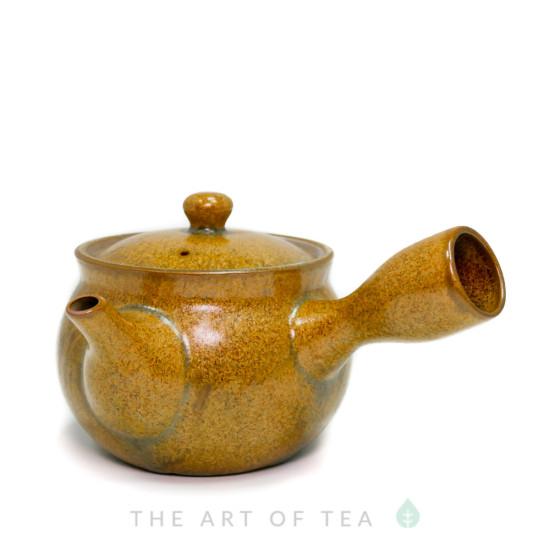 Чайник т95, глина, глазурь, 250 мл