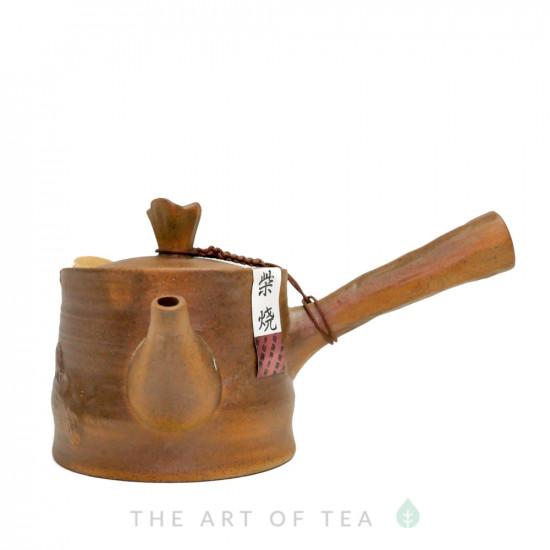 Чайник т96, глина, глазурь, 195 мл