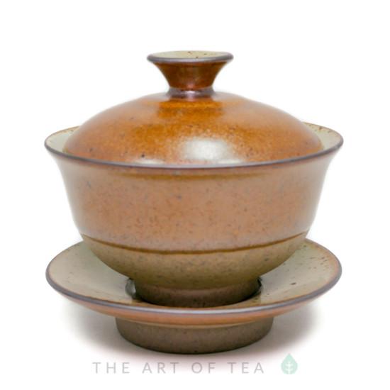 """Гайвань """"Древность"""" мини, золотая, керамика, глазурь, 85 мл"""