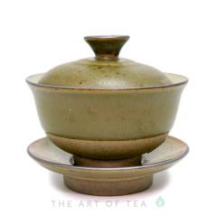 """Гайвань """"Древность"""" мини, зеленая, керамика, глазурь, 85 мл"""