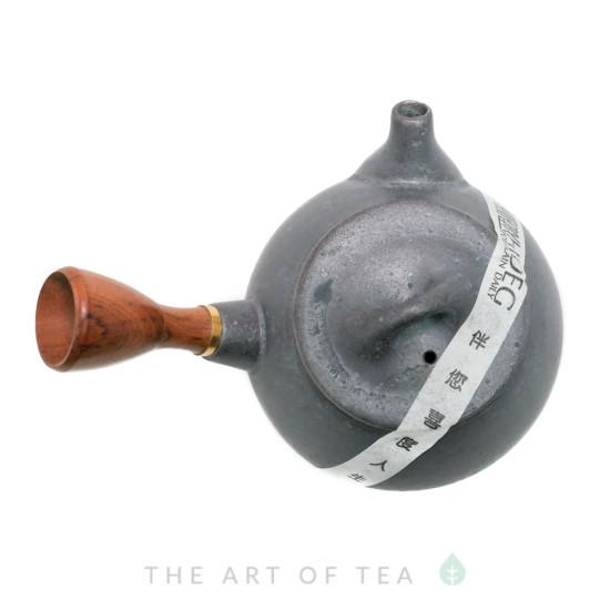 Чайник Ши Пяо с боковой ручкой, черный, глина, глазурь 210 мл