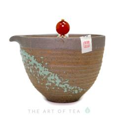 Гайвань - чайник Тайваньский Стиль 2, глина, 190 мл