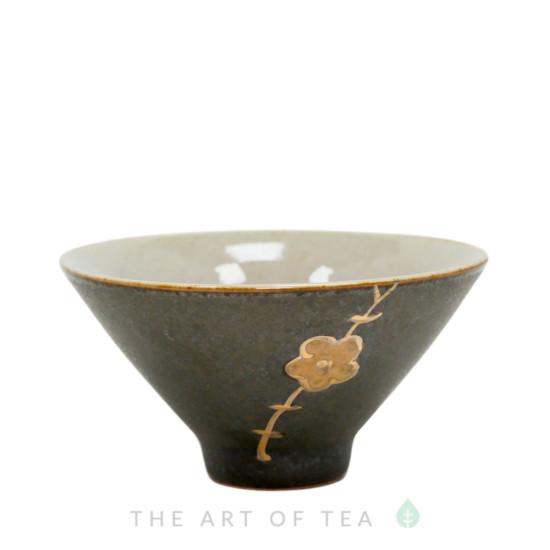 Пиала Конус со швом, керамика, глазурь, 55 мл