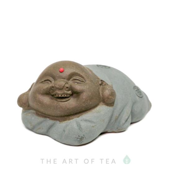 Чайная фигурка Веселый Старец, глина