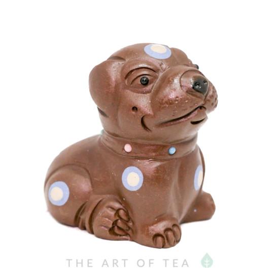 Чайная фигурка Собака, глина