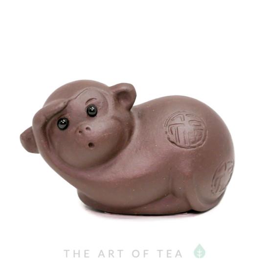 Чайная фигурка Обезьянка, глина