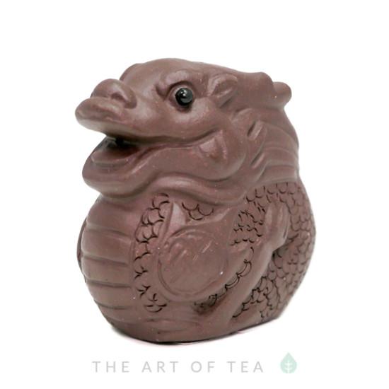 Чайная фигурка Дракон малый, глина