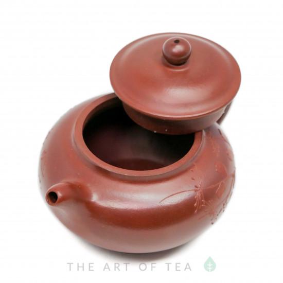 Чайник из исинской глины т118, 110 мл