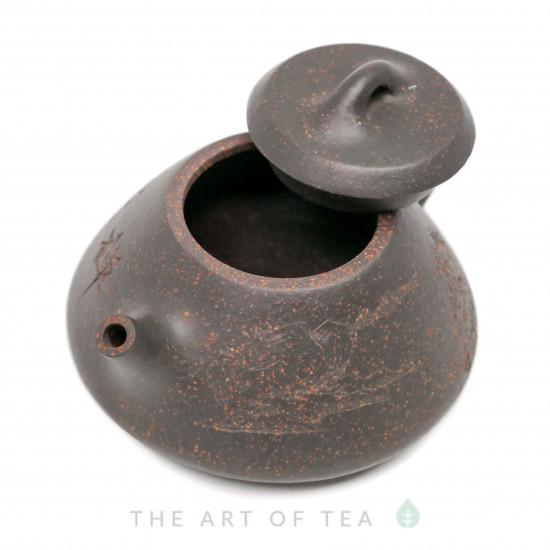 Чайник из исинской глины т119, 125 мл