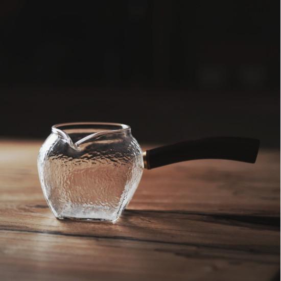 Чахай Рельеф, с боковой ручкой, отбивное стекло, 290 мл