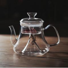 Чайник-сифон для варки чая, огнеупорное стекло, 1200 мл