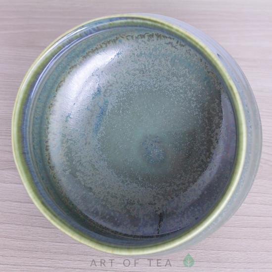 Тяван, чаша для матча, голубой