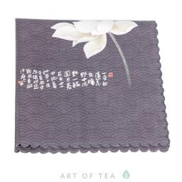 Чайное полотенце Цветок лотоса, 30*30 см
