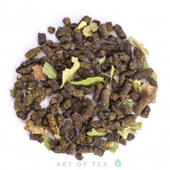 Иван-чай с листьями смородины, 2021 г.