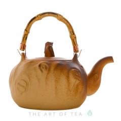 Чайник для воды, огнеупорная керамика, 1200 мл, тип 3