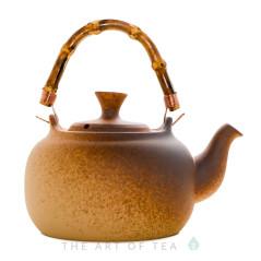 Чайник для воды, огнеупорная керамика, 1200 мл, тип 4